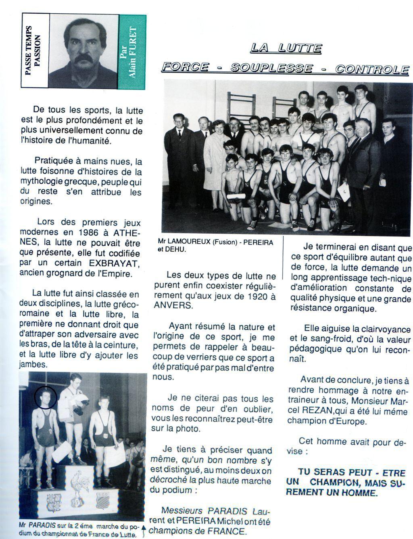 Album - groupe Saint-Gobain, la verrerie de Vauxrot (Aisne), les passions du personnel