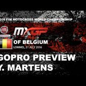 First Gopro Lap of MXGP of Belgium with Yentel Martens