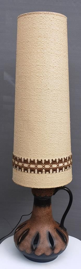 Lampadaire de sol céramique Danish Design Fat Lava 1970 - 120 euros