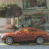 BENTLEY CONTINENTAL GT MATCHBOX 1/64 - car-collector.net