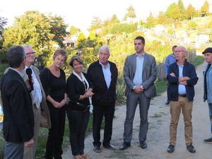 Inauguration de la section des Fougères le 30 septembre 2016