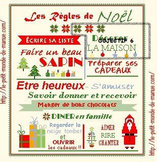 """SAL """"LES REGLES DE NOEL"""" 2020  - OBJECTIF 6"""