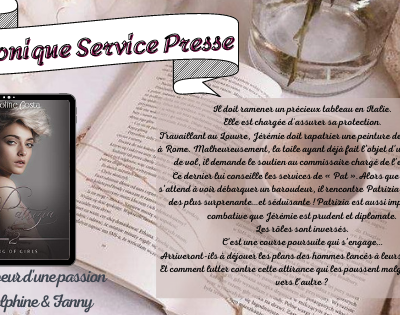 Chronique Delphine : Patrizia - Gang of Girls tome 2 de Caroline Costa