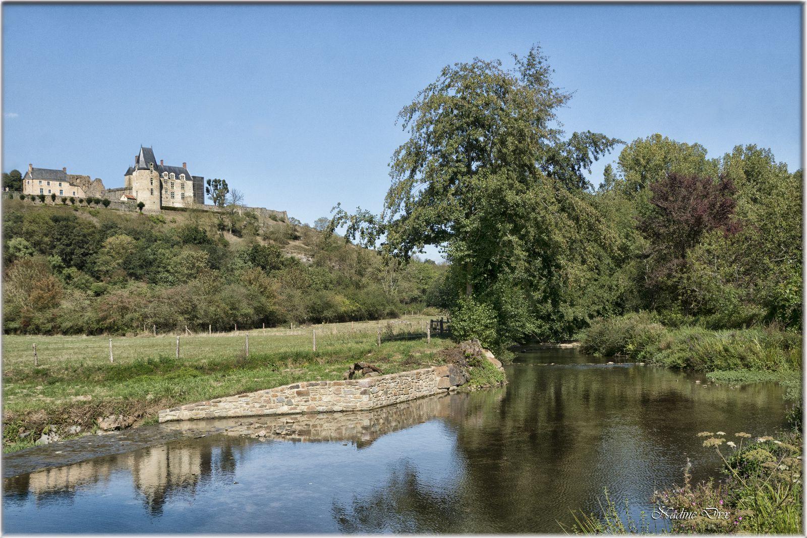 Le Grand Moulin ou moulin de Vicomte - Sainte-Suzanne - Mayenne