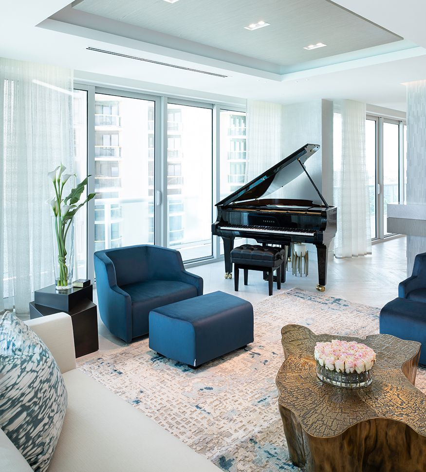 Miami, Bel Habour is the latest luxurious project signed by Sarah Zohar