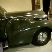 1938 Cadillac Model 75 General Patton's Crash Car