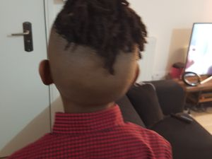 My son and his microlocks