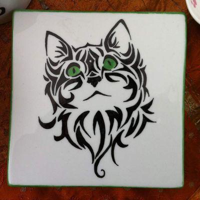 Les p'tits chats peints