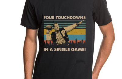 Top Al Bundy Four touchdowns in a single game vintage shirt