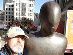 Il bronzeo uomo accampanato di Aldgate