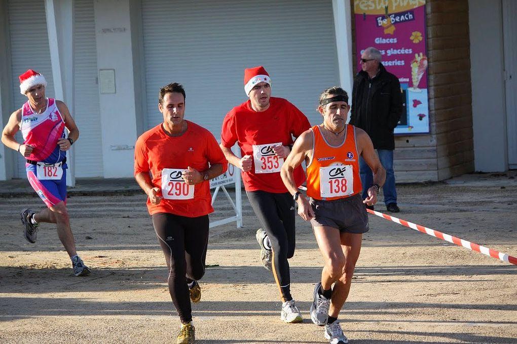 La corrida du Pouliguen le 24 décembre 2011.