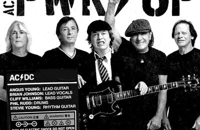 Le grand retour de AC/DC avec Brian Johnson !