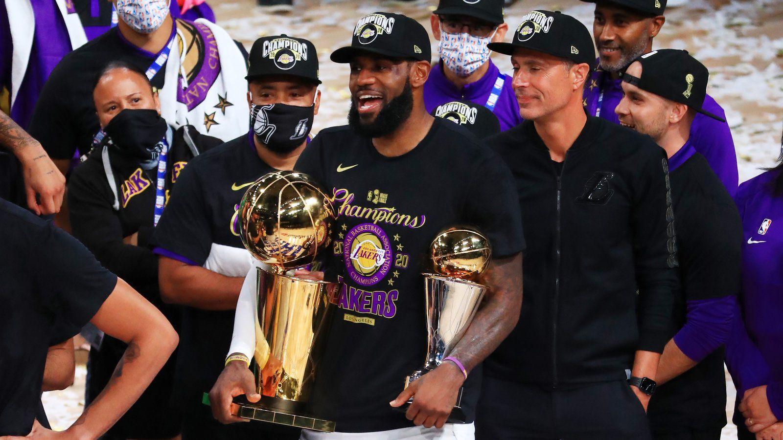 LeBron James (Lakers) : « C'est un sentiment incroyable de faire partie d'une telle franchise »