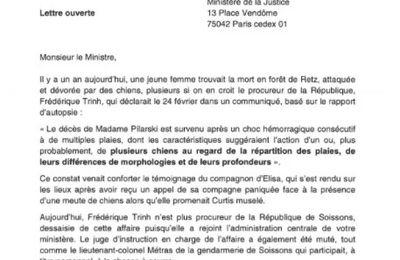 """Brigitte Bardot s'adresse au ministre Eric Dupond-Moretti dans une lettre ouverte: """"Curtis est aujourd'hui le coupable idéal"""""""