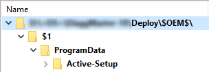 [MDT] How to dynamically install Active Setup in MDT