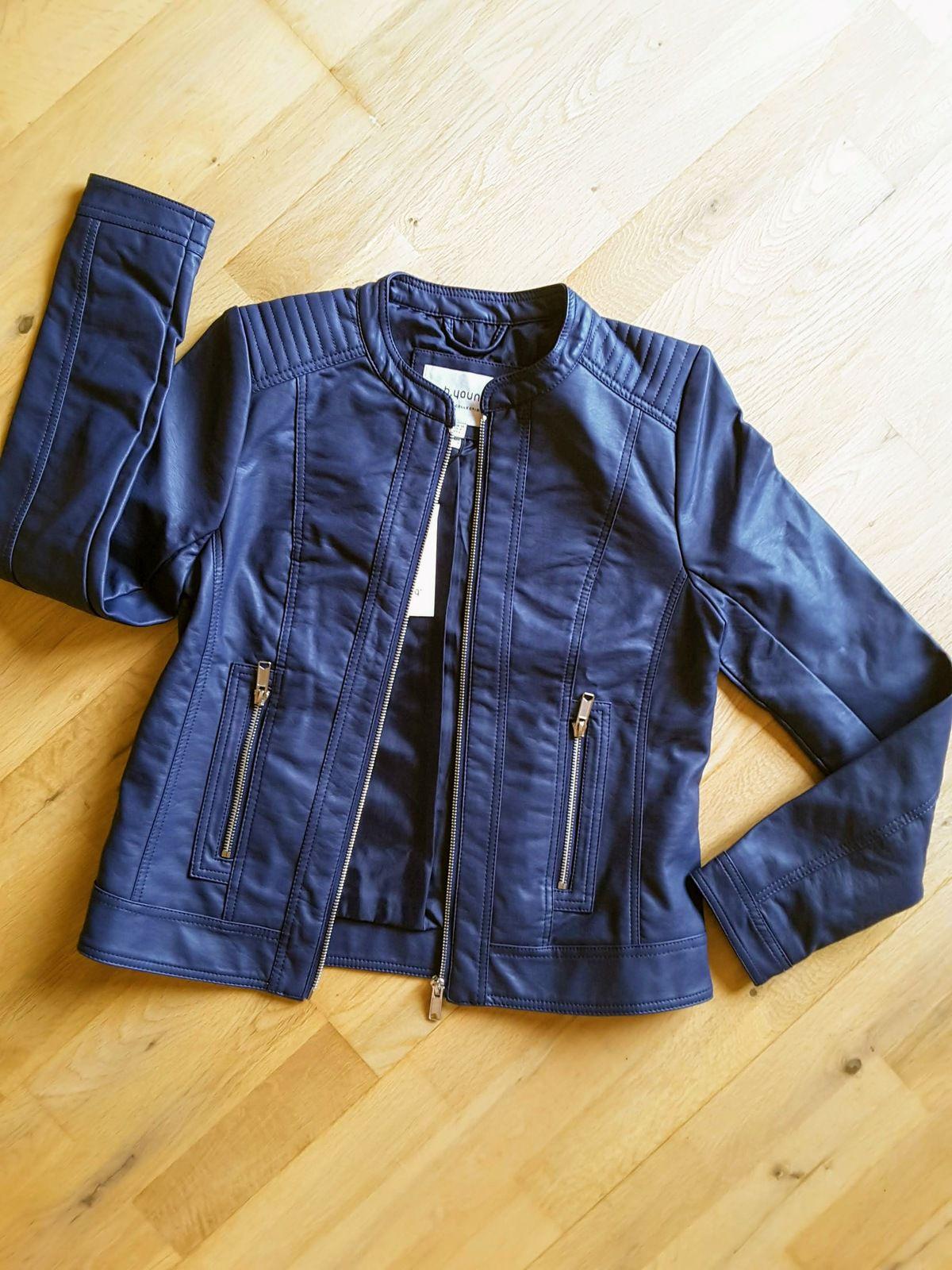 veste Acom Jacket Port blue dark - B.Young lookiero missbonsplansdunet personal shopper box vêtement