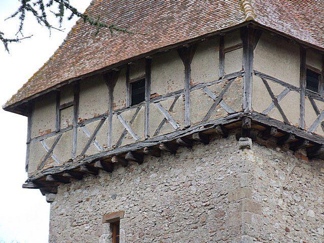 Diaporama château à La Ferté Hauterive