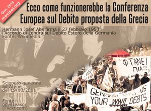 Ecco come funzionerebbe la Conferenza Europea sul Debito proposta dalla Grecia ( 4)