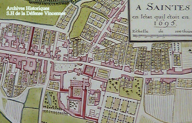 Ce que l'on sait moins c'est que cette place St Pallais fut le cimetière paroissiale de l'église St Pallais, situé sur la place et tout autour vers le nord. Après la révolution, et à l'arrivée des militaires, le cimetière fut déplacé à l'arrière de l'abbaye. Soit rue Geoffroy Martel pour quelques décennies encore.