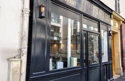 Le Faham (Paris 17) : repas à la kaz (Mis à jour)