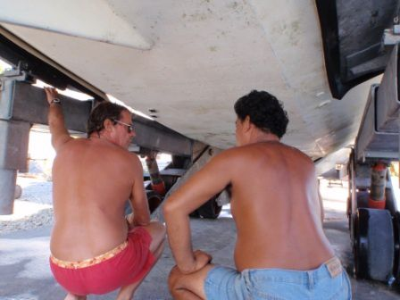 Photos du chantier Boatyard pictures