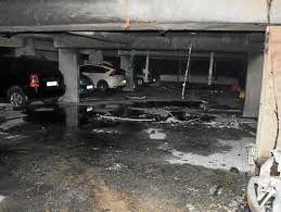 Colombes : dix véhicules brûlent dans le parking d'une résidence