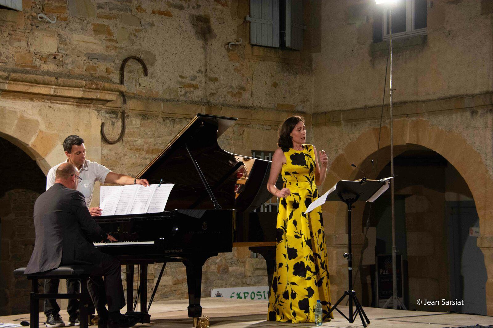 FESTIVAL PIERRES LYRIQUES : VERONIQUE GENS ILLUMINE L'ARSENAL