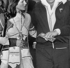Photos Elvis Presley Priscilla et Lisa Marie