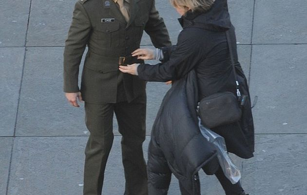 All You Need is Kill : photos du tournage avec Tom Cruise