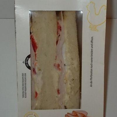 Aldi Snack Time Sandwich Pute-Ei