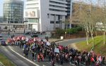 Grève dans le Val-d'Oise : manifestation à Cergy pour continuer de mobiliser
