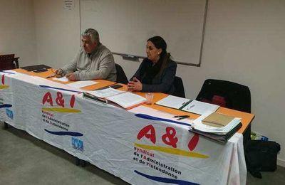 COMPTE RENDU DE LA RÉUNION D'INFORMATIONS SYNDICALES DU 02/02/2018