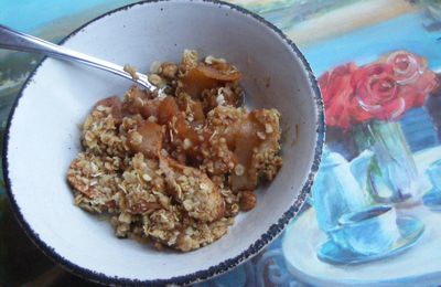 La croustade aux pommes, un délicieux dessert québécois