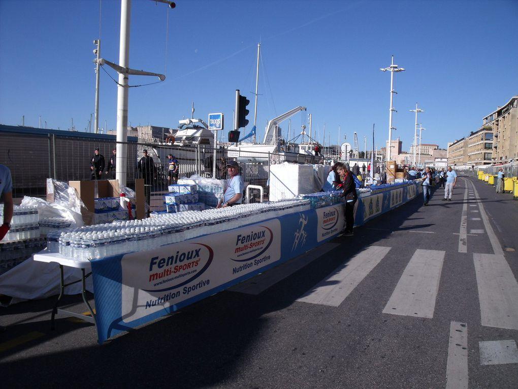 L'ACP Marseille au ravitaillement d'arrivée.