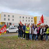 Mouvement de grève dans les EHPAD publics du Havre