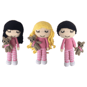 Free Amigurumi Crochet Patterns - Daisy and Storm Designs
