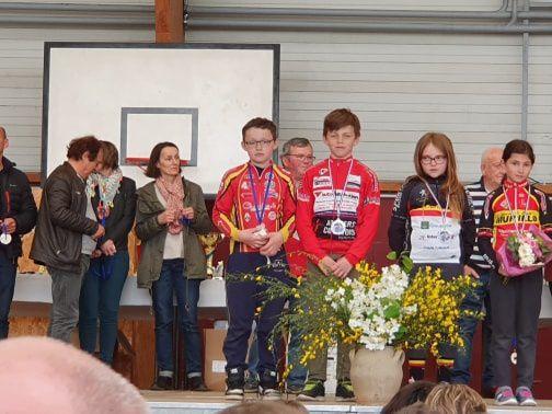 De bons résultats pour nos jeunes au critérium National de Droué (41)