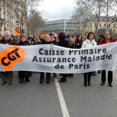 CPAM de Paris : Grève du 7 février 2013