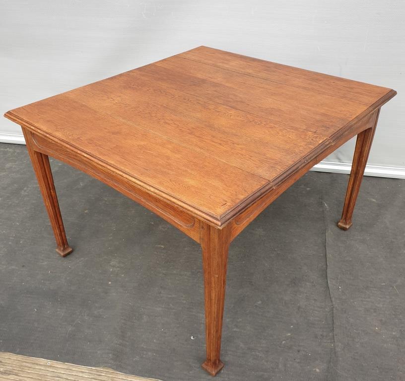 Table Art Nouveau Latham pieds Guimard circa 1916 - 700 euros