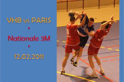 SM1 vs PARIS HANDBALL (N3 - 12.02.2011)