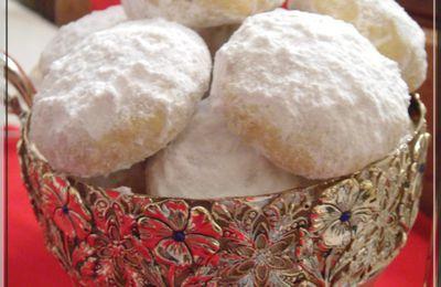 kourabiedes (biscuits grecs)