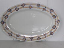 Plat ovale Sarreguemines Royal Vintage