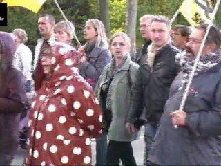 Manifestation contre la réforme des retraites, Amiens 16 Octobre 2010