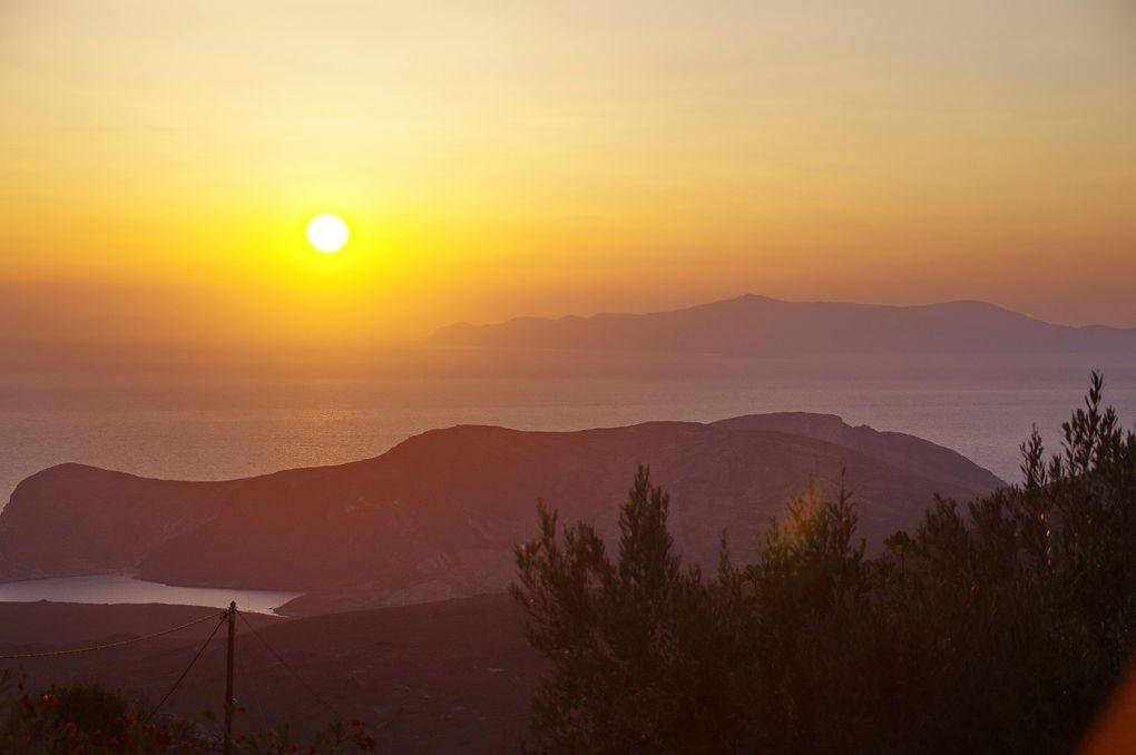 Taverne avec Vue au nord de Syros