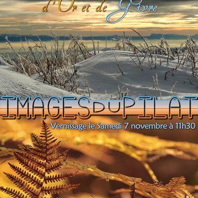 """Expo-photos """"d'Or et de Givre"""" du 21 octobre au 20 décembre 2015 au Chalet des Alpes (LE BESSAT)"""