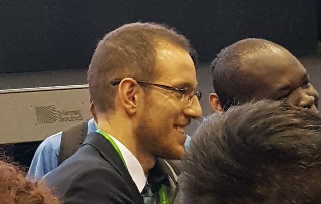 La conférence de médaillé d'Alessio Figalli