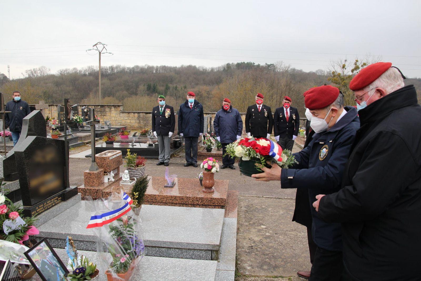 1 ANS DEJA  HOMMAGE  à NOTRE  PRESIDENT  GILBERT TRIESTINI  21 /03 / 2021