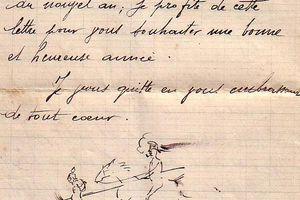 Lettre d'un Poilu à sa famille (RANGER Robert soldat du 32 ème dragon de Versailles) 4/4.