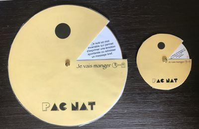 Mémo/jeu pour les natures (classes) de mots : Pac nat'