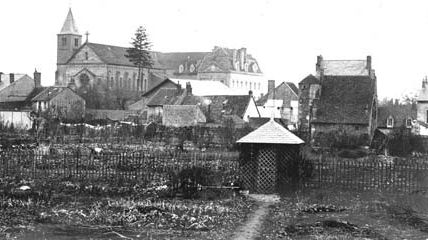 Quartiers Faubourg d'Arroux/Saint-Jean/Saint-André : le quartier Saint-Jean autour de 1900-1960.